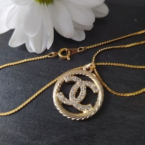 Reworked Chanel necklace